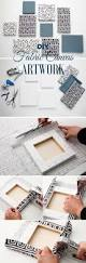 Easy Art And Craft Ideas For Home Decor Best 25 Diy Wall Decor Ideas On Pinterest Diy Wall Art Wall