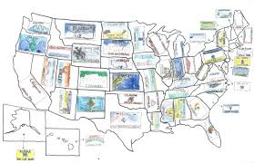 License Plate Usa Map by Usa Maps Osher Map Library