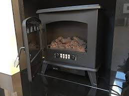 Electric Stove Fireplace Galleon Fires U201ccastor U201d Electric Log Effect Stove Fireplace