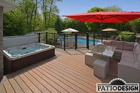 deco spa exterieur conception fabrication et installation de patio autour d u0027un spa