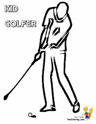 gallant golf coloring pages clubs golf course free golfers