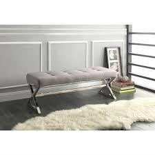 gray bedroom bench simple home design ideas academiaeb com