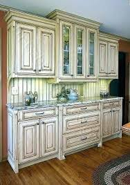 how to distress wood cabinets distressed wood kitchen cabinets the best of antiqued kitchen
