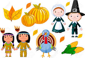 thanksgiving pilgrims clipart illustration set of thanksgiving icons royalty free cliparts