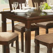 espresso dining room set homelegance devlin 6 rectangular dining room set in espresso