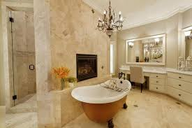 Travertine Bathroom Floor A Chic Travertine Bathroom Wigandia Bedroom Collection