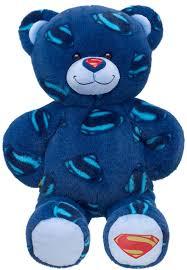 build a unstuffed build a superman themed teddy see bab bears stuffed