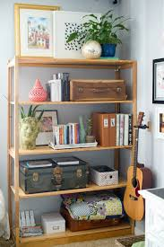 Living Room Shelf Unit by Domestic Fashionista Decorating Around The Tv And A New Shelf