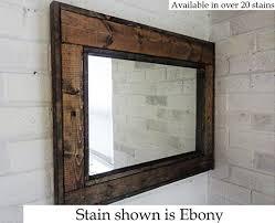 Home Decor Mirrors Amazon Com Renewed Décor Herringbone Reclaimed Wood Mirror In 20