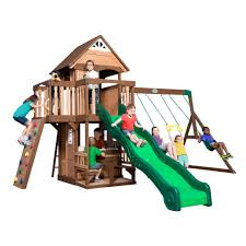 cedar playsets u0026 swing sets parks playsets u0026 playhouses the