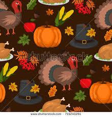 thanksgiving food celebration design autumn stock vector