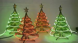 small light up christmas tree light up your holidays with our cool neon with our small table top