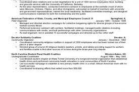 Example Chronological Resume by Chronological Resume Format 2017 Chronological Resume Format