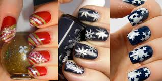 inspiring winter snowflake nail art ideas u0026 designs 2012 2013 for