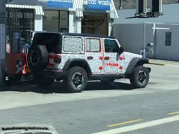 jl jeep diesel spied the new jeep wrangler jl in new zealand spy shots