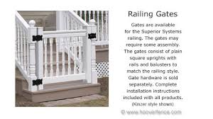 vinyl railing victorian 3 u0027 high almond prices