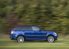 land rover sport cars rover sport svr gripping acceleration