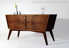 mid century console table designing building a mid century inspired console design milk