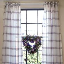 how to sew tie top curtains make your own curtains ideal home