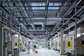 volkswagen germany factory technogym zumtobel