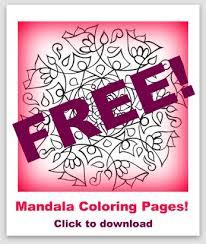 eye pop art free mandala coloring pages free