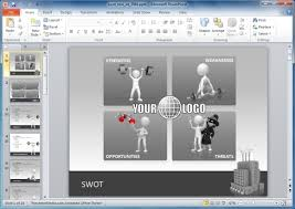 free sample swot analysis powerpoint template bountr info