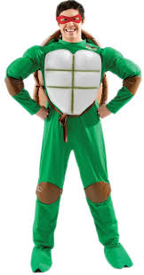 Ninja Turtle Halloween Costume Girls Mens Teenage Mutant Ninja Turtles Costume Retro 80s Fancy Dress