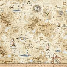 Map Fabric Timeless Treasures On The Go Map Map Discount Designer Fabric