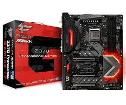 Z370 Specs Asrock Fatal1ty Z370 Professional Gaming I7 Motherboard