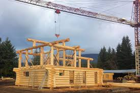 constructing your log home or cabin log home process