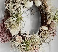 coastal wreath pottery barn