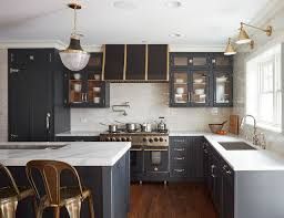 what hardware looks best on black cabinets 6 hardware styles to pair with blue shaker cabinets