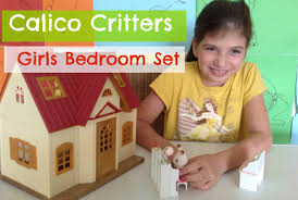 Girls Bedroom Sets Calico Critters Girls Bedroom Set Maylla Playz