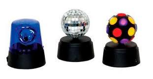 mini disco ball light funki party set mini disco mirrorball blue fuzz light rotator
