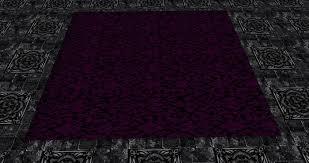 Purple Carpets Second Life Marketplace Rug Dark Purple
