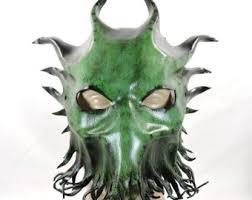 Davy Jones Halloween Costume Tentacle Mask Etsy