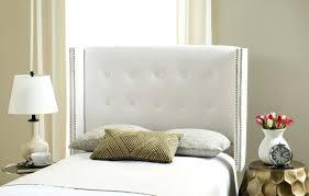 King Wicker Headboard Decoration White Headboards Coccinelleshow Com