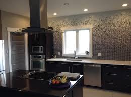 Black Glass Tiles For Kitchen Backsplashes by 4x12 Black Glass Subway Rex Ray Type Tile Modwalls Modern