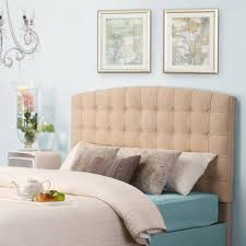 bedroom magnificent king bed fabric headboard leather headboard