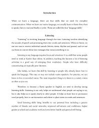 english language the four skills