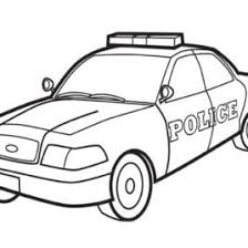 coloring police car archives mente beta complete