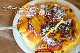 cuisine gateau aux pommes gâteau aux pommes à la poêle petits plats entre amis