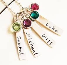 necklace with children s birthstones best 25 necklace ideas on bird necklace name