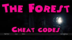 the forest cheat codes youtube