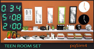 Teen Bedroom Sets - teen bedroom set sims 4 custom content