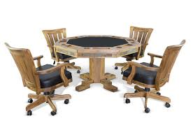 dining room poker table convertible poker u0026 dining table sedona by sunny designs 1004ro