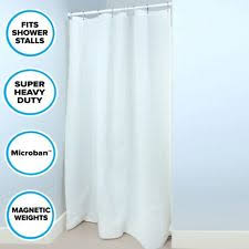 traditional with weighted hem shower curtains ebay