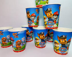 paw patrol party etsy