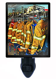 firefighter night light firefighter gear gifts for