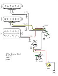 wiring diagram 5 way selector switch schematic guitar wiring